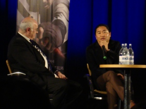 Tony Rayns poses questions for director Kim Han-min