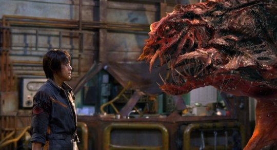 Cha Hae-joon (차해준) faces off against the monster