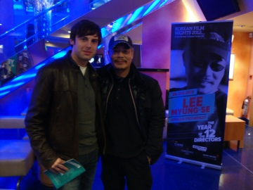 Me with director Lee Myeong-se!