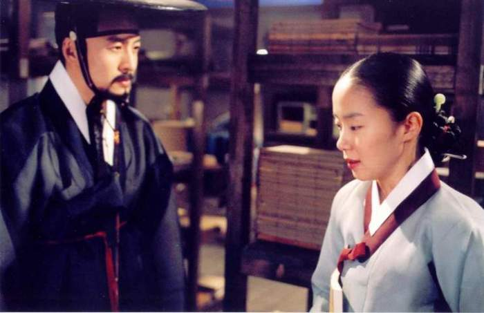 Sir Jo-won must seduce the most virtuous woman in the land, Lady Jung
