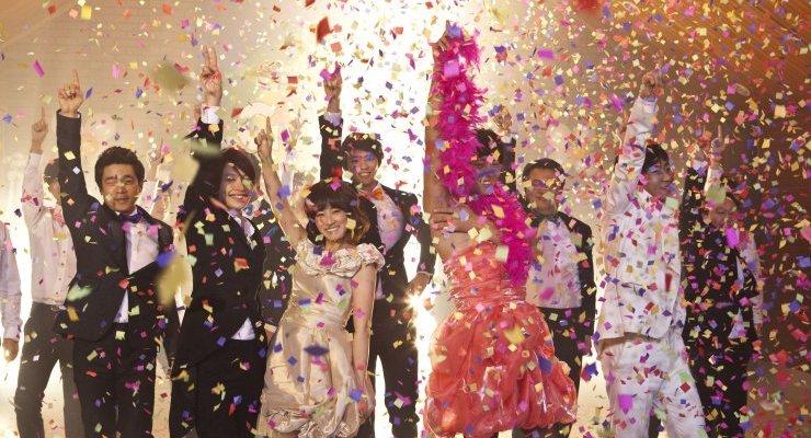 The gay community enjoys a lavish finale