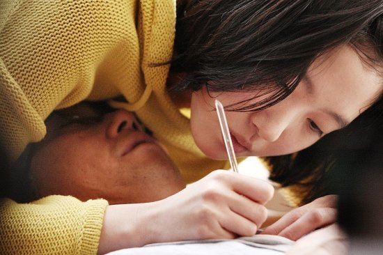 Jeok-gyo and Eun-gyo share intimate moments