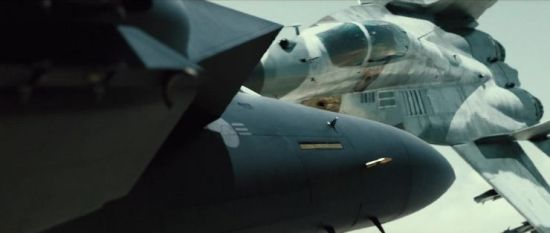 The aerial dogfights are thrilling as pilots battle over Seoul