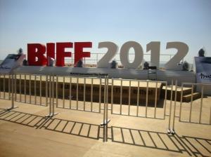 BIFF 2012 at Haeundae (해운대) Beach