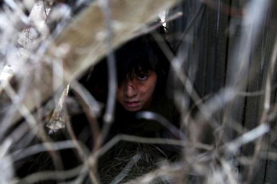The werewolf boy Cheol-su is found stalking the grounds