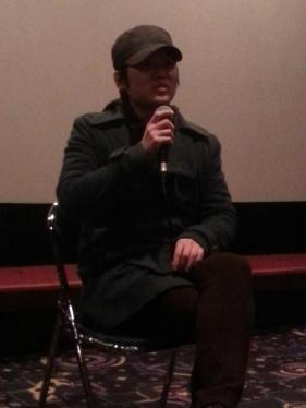 Director Kim Kyung-mook at the Q&A