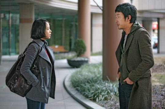 Hee-soo confronts ex-boyfriend Byeong-woo about his unpaid debt