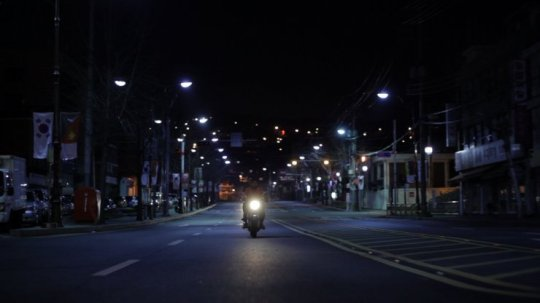 The cinematography of the street scenes are attractive and symbolic