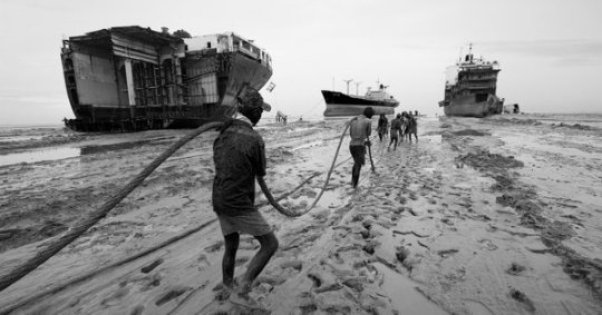 Iron Crows captures the hardships of shipbreakers in Bangladesh