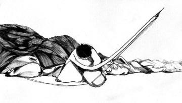 Sewing Woman (바느질 하는 여자)