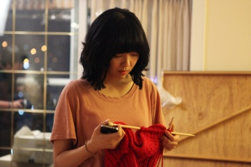 The Knitting (뜨개질)