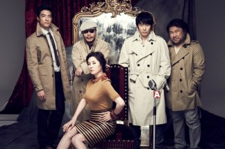 Original director Lee Myeong-se and the cast of The Spy:Mr. K