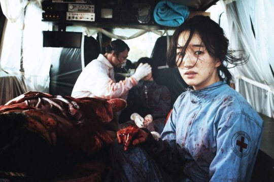 Doctor and single mother Kim In-hye works with the source of the contagion