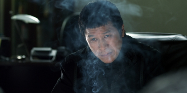 The mob boss uses baduk as respite from his violent world