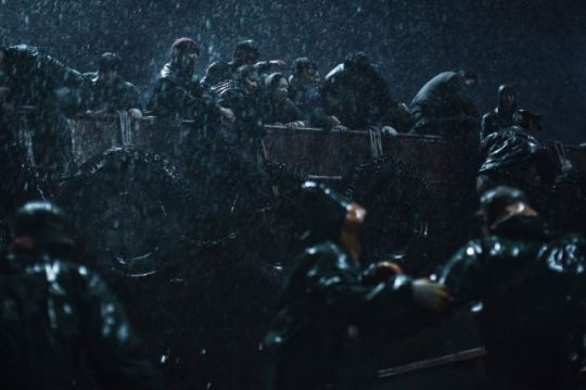 The composition within Haemoo is continually striking, both within the ship and without