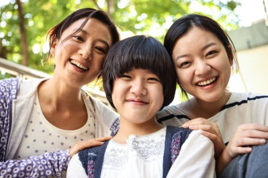 The family are devastated from Cheon-ji (center) commits suicide