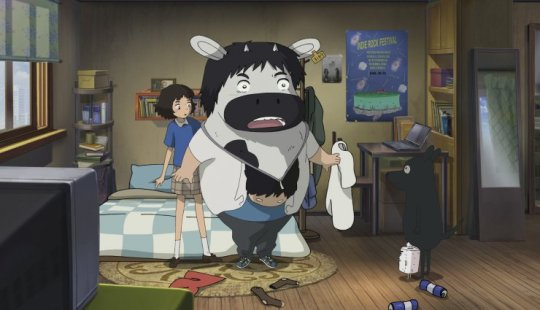 Satellitle Il-ho learns that musician Kyeong-cheon has been transformed into a milk cow
