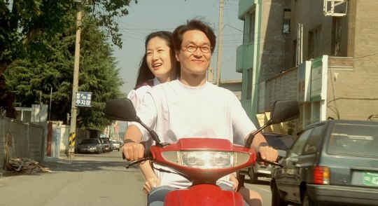 In the hot summer months, Da-rim and Jung-won enjoy special moments