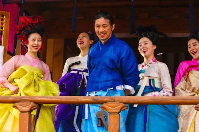 Through colourful stylish hanbok, rebellious tailor Gong-jin pushes Confucian boundaries