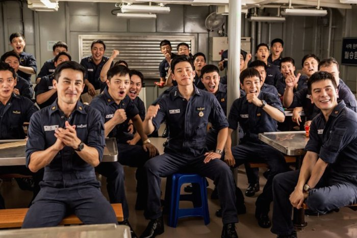 Camaraderie is strong as the crew celebrate South Korea's World Cup achievements