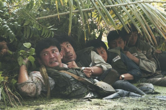 Deok-soo's journey to Vietnam acts as a crude parallel to Korea