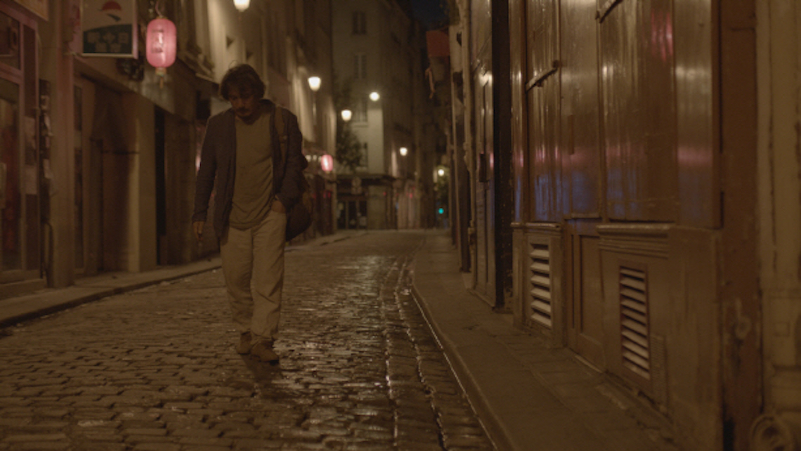 Sang-ho scours the back streets of Paris every night looking for Yeong-wha